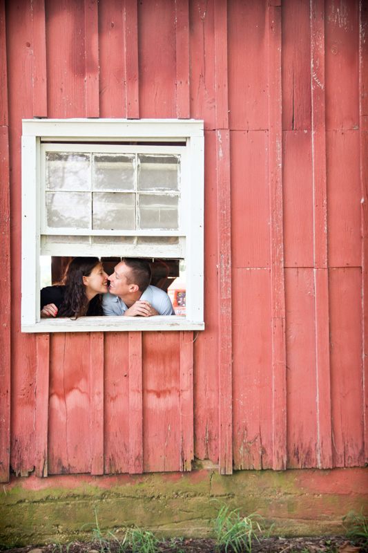Wedding Photography and Couples Photography, couple kissing in window