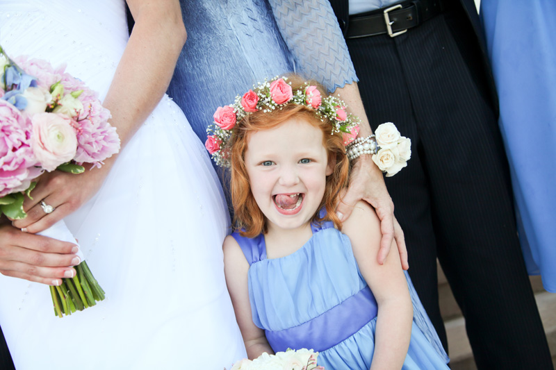 Wedding Photography and Couples Photography, flower girl
