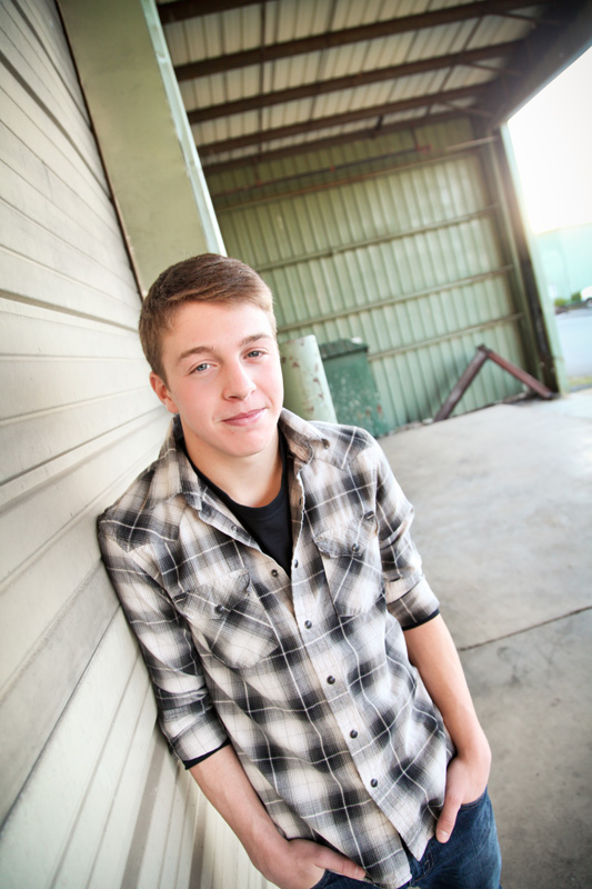 Senior Photography, Teen & Tween Photography, boy in black and white plaid shirt