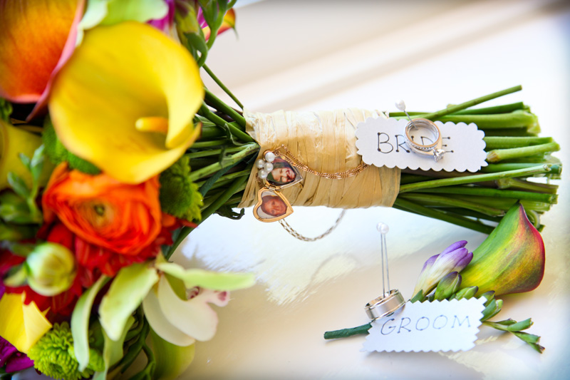 Wedding Photography and Couples Photography, close up of wedding bouquet and rings