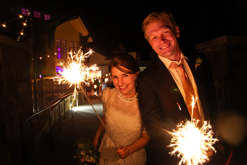 Wedding Photography and Couples Photography, couple with sparklers