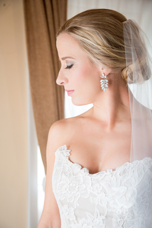 Wedding Photography and Couples Photography, bride looking to the side